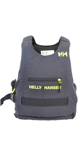 2018 Helly Hansen 50N Rider Race Plus + Buoyancy Aid Ebony / Lime 33823