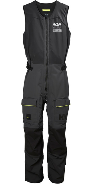 2019 Helly Hansen AEGIR Race Salopettes Ebony 33871