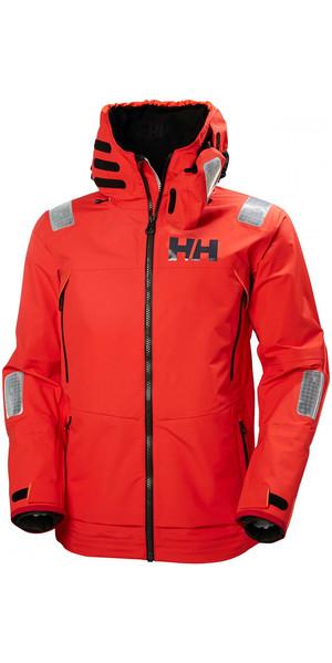 2019 Helly Hansen Aegir Race Jacket Alert Red 33869