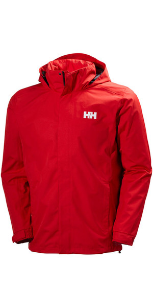 2019 Helly Hansen Dubliner Jacket Flag Red 62643
