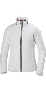 2019 Helly Hansen Womens Crew Insulator Jacket White 53030