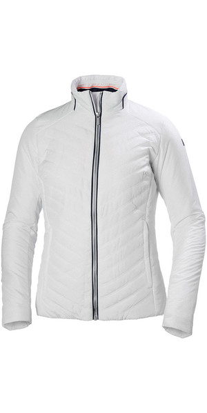2019 Helly Hansen Womens Crew Insulator Jacket White 53030