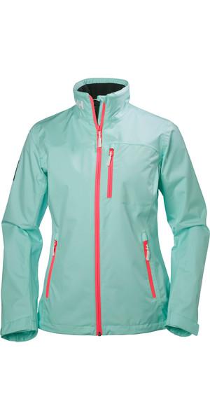 2018 Helly Hansen Ladies Crew Jacket BLUE TINT 30297