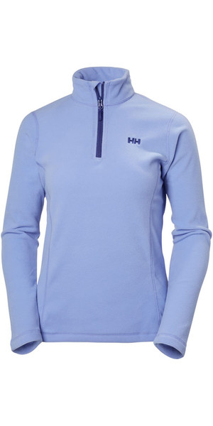 2018 Helly Hansen Ladies Daybreaker 1/2 Zip Fleece Lilac 50845