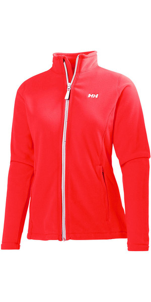 Helly Hansen Womens Daybreaker Fleece Jacket Neon Coral 51599