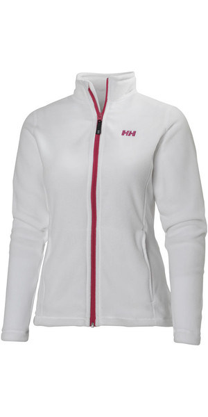 Helly Hansen Ladies Daybreaker Fleece Jacket White / Pink 51599