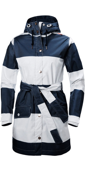 Helly Hansen Ladies Lyness Insulated Coat Navy Stripe 62462