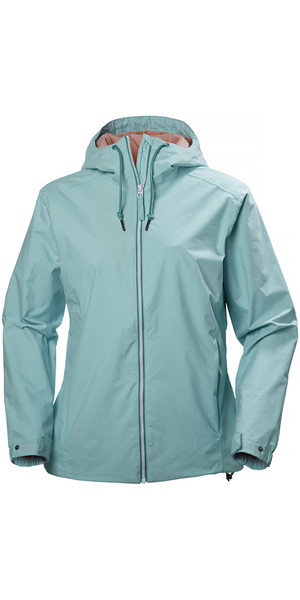 Helly Hansen Ladies Marstrand Rain Jacket Blue Tint 64018