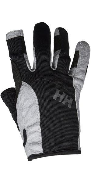 2019 Helly Hansen Long Finger Sailing Glove Black 67771