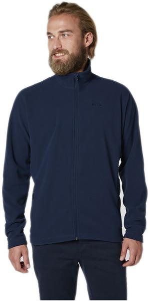 Helly Hansen Mens Daybreak Fleece Jacket Evening Blue / Navy Logo 51598