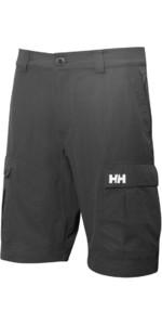 2019 Helly Hansen QD Cargo Shorts Ebony 54154