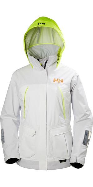 2018 Helly Hansen Womens Pier Coastal Jacket WHITE 33886