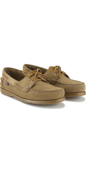 2019 Henri Lloyd Arkansa Deck Shoe Brown Nubuck / Caramel F94412