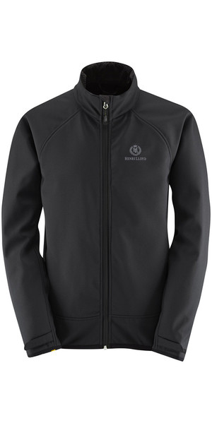 2018 Henri Lloyd Cyclone Soft Shell Inshore Jacket Black Y50203