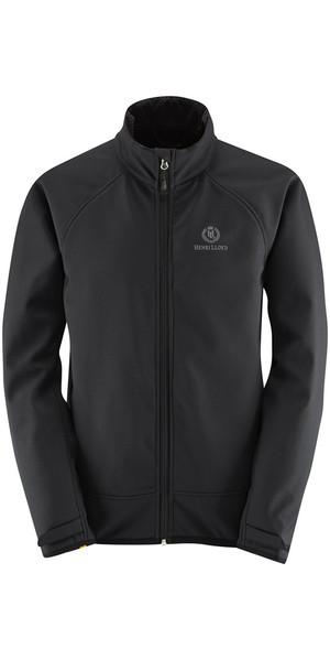 2019 Henri Lloyd Cyclone Soft Shell Inshore Jacket Black Y50203