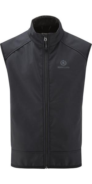2018 Henri Lloyd Cyclone Soft Shell Inshore Vest BLACK Y50204