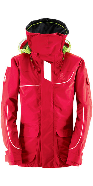 2018 Henri Lloyd Elite Offshore 2.0 Jacket NEW RED Y00376
