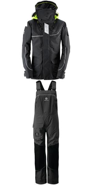 2019 Henri Lloyd Womens Elite Offshore 2.0 Jacket Y00377 & Hi Fit Trousers Y10175 COMBI SET BLACK