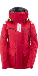 Henri Lloyd Womens Freedom Offshore Jacket New Red Y00352