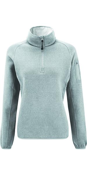 Henri Lloyd Traverse Half Zip Women's Fleece Light Grey Y20088