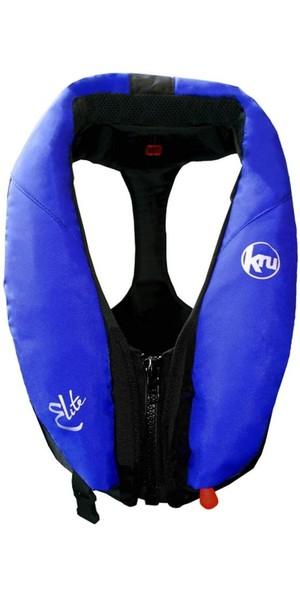 Kru Elite 195N Manual Lifejacket Blue LIF7420