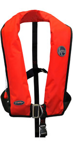 2019 Kru XF ISO Auto Gas Life Jacket With Harness Red LIF7573