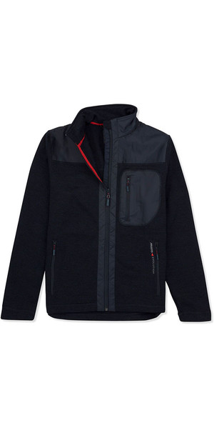 Musto Bruma Funnel Fleece Navy / Fire Orange SE3480