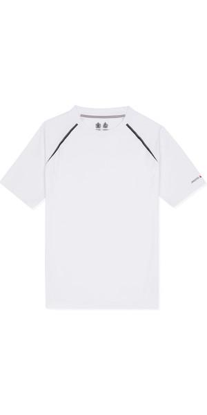 Musto Evolution Dynamic Short Sleeve Tee WHITE EMTS018