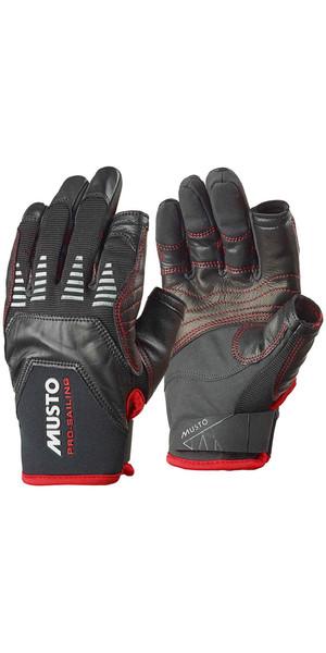 Musto Evolution Sailing Long Finger Glove BLACK AE1080