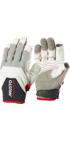Musto Evolution Sailing Long Finger Glove WHITE AE1080