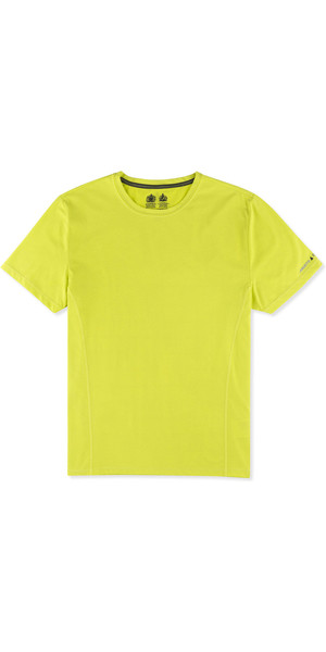 Musto Evolution Sunblock Short Sleeve T-Shirt SULPHUR SPRING EMTS019