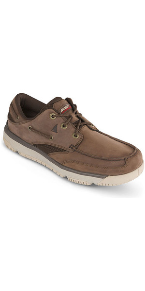 Musto GP Classic Sailing Shoes Dark Brown FMFT007