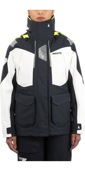 Musto Womens BR2 Offshore Jacket TRUE NAVY / WHITE SWJK014