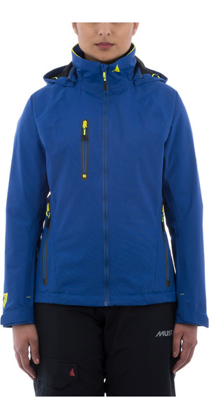 Musto Womens Sardinia BR1 Jacket SURF  / FLURO YELLOW SWJK017