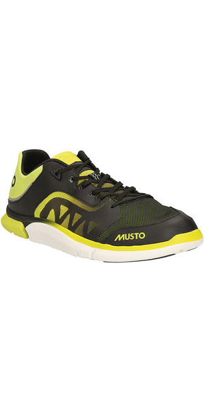 Musto Trilite Performance Sailing Shoe Black / Lime FS0820/30