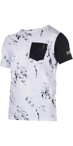 Mystic Stone S / S Loosefit Quick Dry Rash Vest White 170282