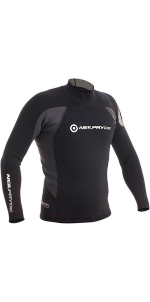 2018 Neil Pryde Junior Raceline 3/2mm Neoprene Top Black 630140J