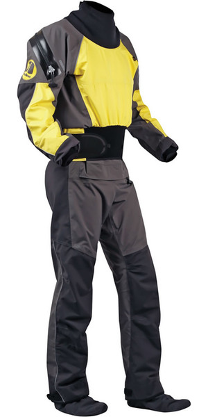 2018 Nookie Blaze Canoe / Kayak Drysuit Yellow / Charcoal  DR20