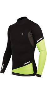 2020 Nookie Ti 1mm Neoprene Long Sleeve Vest Top Black / Green NE02