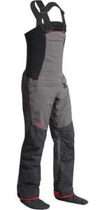 2019 Nookie Pro Bib Double Waist Dry Trousers Charcoal Grey TR12