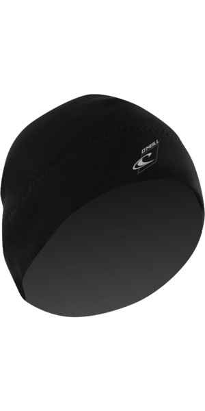 2018 O'Neill 2mm Neoprene Beanie BLACK 3671