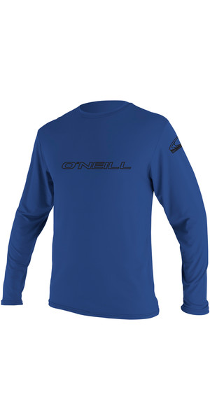 2018 O'Neill Basic Skins Long Sleeve Rash Tee PACIFIC 4339
