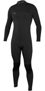 2020 O'Neill HyperFreak Comp 4/3mm Zipperless Wetsuit BLACK 4971