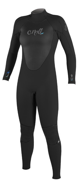 2018 O'Neill Ladies Epic 5/4mm Back Zip GBS Wetsuit BLACK / BLACK 4218