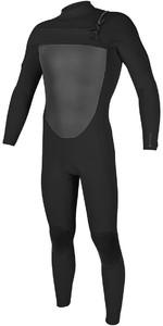 2018 O'Neill O'riginal 4/3mm Chest Zip Wetsuit BLACK 5012