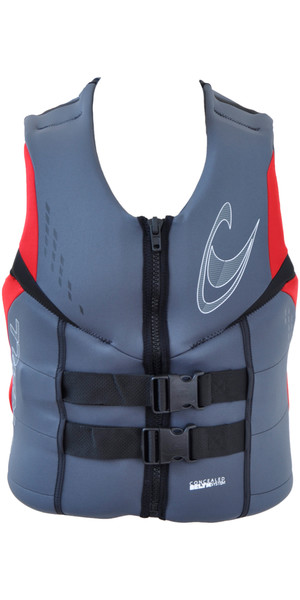 O'Neill Reactor CE Buckle Impact Vest GRAPHITE / RED / BLACK 3984EU