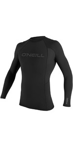 2019 O'Neill Thermo-X Long Sleeve Crew Top BLACK 5022