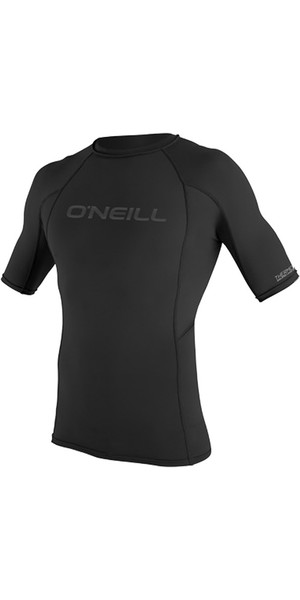 2019 O'Neill Thermo-X Short Sleeve Crew Top BLACK 5021