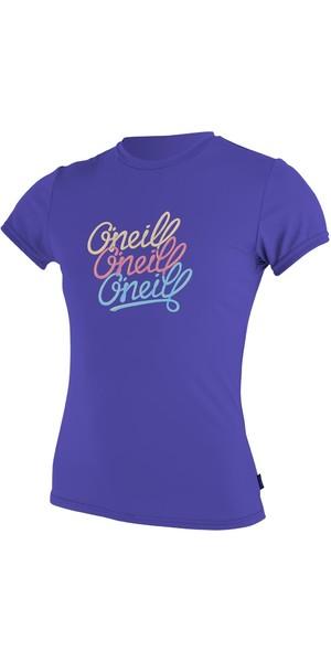 O'Neill Youth Girls Short Sleeve Rash Tee COBALT 4118