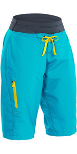 2020 Palm Womens Horizon Canoe / Kayak Shorts Aqua 12125